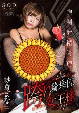 【STAR-763】强制管理跨乘位女王 纱仓真奈(纱仓まな)