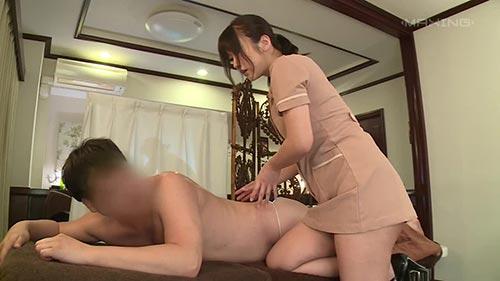【MXGS-1057】美容师用美容服冲击 大槻响(大槻ひびき)
