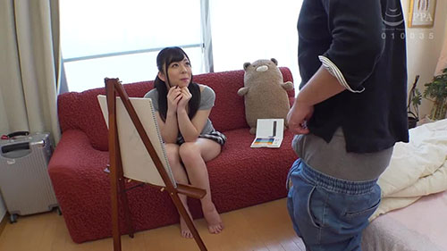 【NACR-261】美大学生向父亲请求了模特 岬梓沙(岬あずさ)
